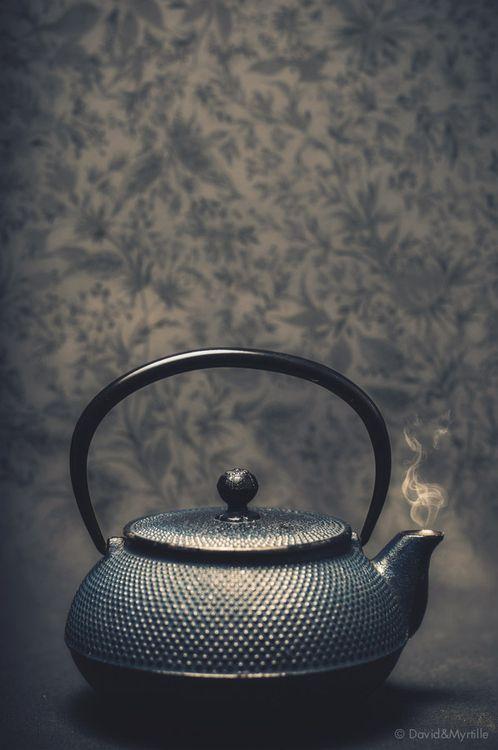 New love, my cast iron tea kettle
