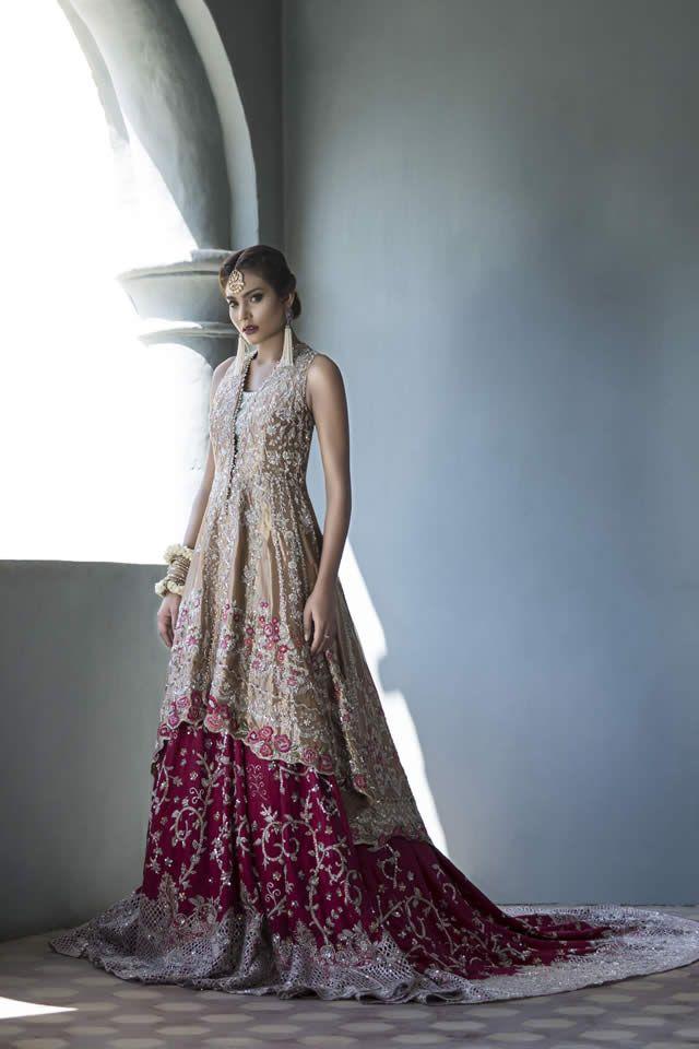 Sania Maskatiya Bridal Dresses collection 2016 Pics