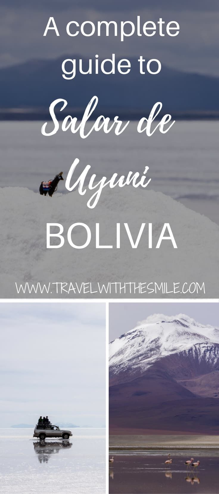 Salt Flats in Bolivia - a complete guide to Salar de Uyuni tour   What to do in Bolivia   Things to do in Bolivia   Salar de Uyuni   Salt flat Bolivia   Biggest salt flat in the world   Laguna Colorada   #bolivia #southamerica #saltflats