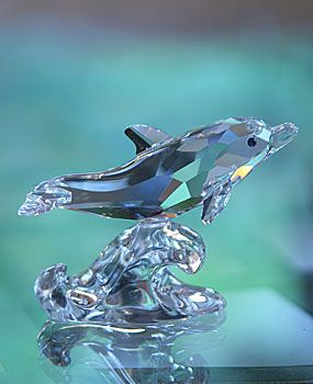 Swarovski Baby Dolphin  ☙ their higher nature ❧