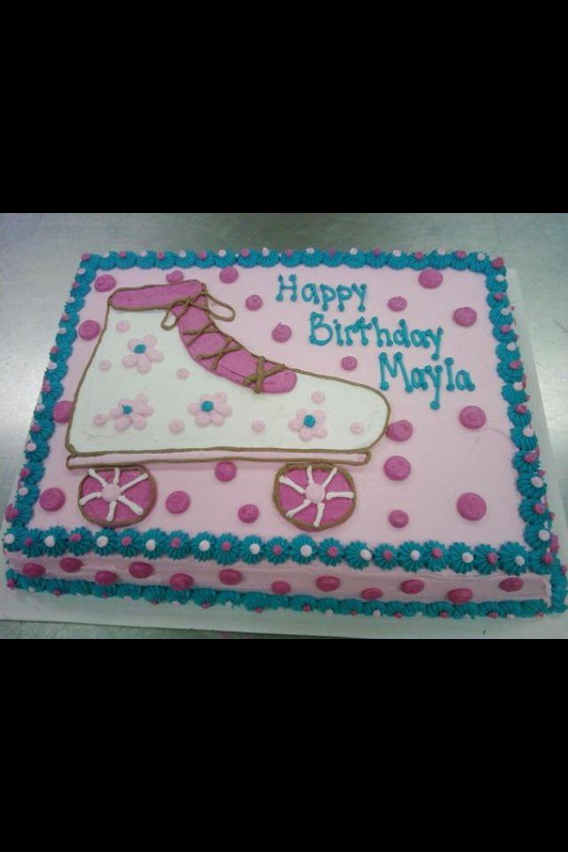 Roller Skate Cake Mystifying Kakes Roller Skate Cake