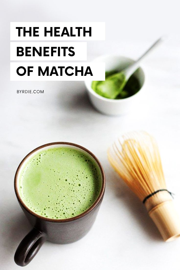Beauty benefits of matcha