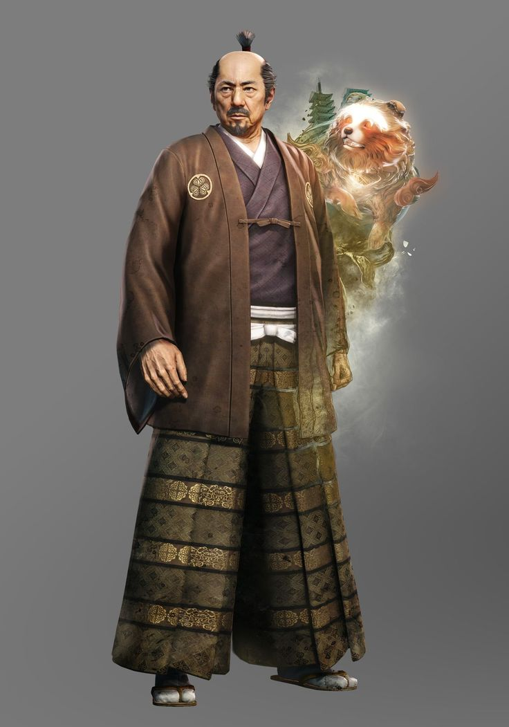 Tokugawa Ieyasu, Ni Oh - PlayStation 4 (rol) #NiOH #PlayStation4 #NiOhGame #PS4 #HattoriHanzo #rol #games #videogames