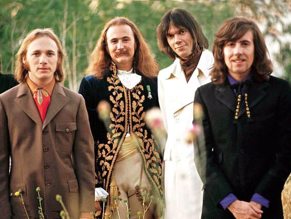 Crosby, Stills, Nash & Young. (Or, Stephen Stills, David Crosby, Neil Young & Graham Nash.