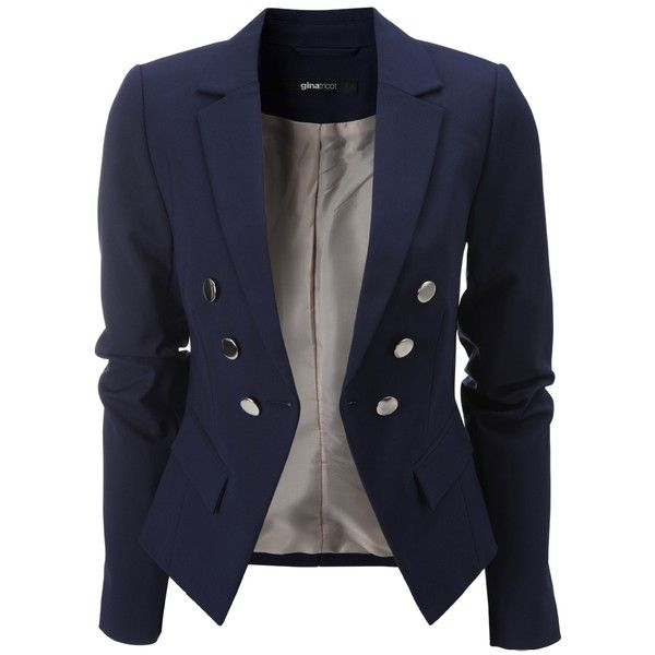 Untitled ❤ liked on Polyvore featuring outerwear, jackets, blazers and blazer jacket