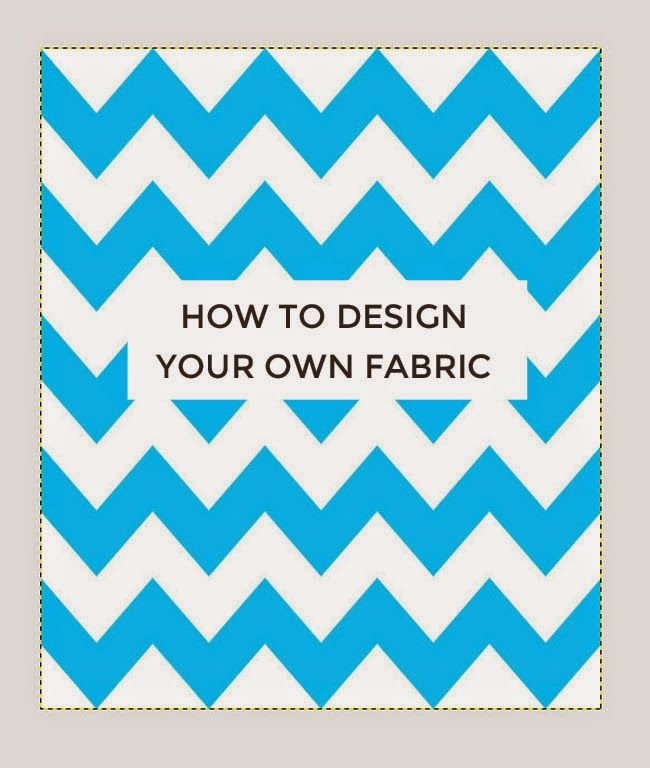 Tilly and the Buttons: How to Design Your Own Fabric