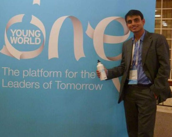 In Zurich at One Young World Conference
