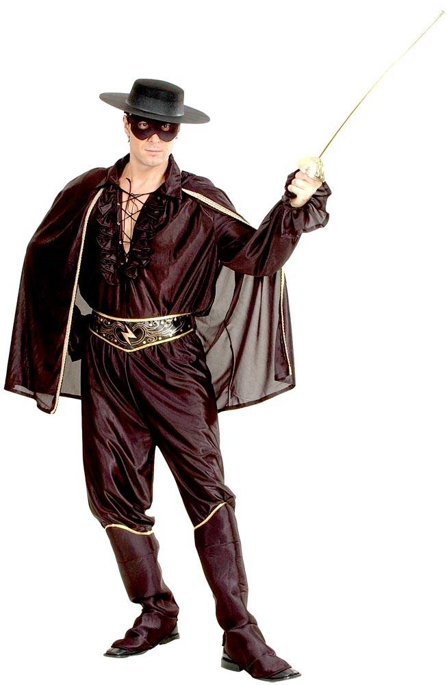 déguisement Zorro homme - justicier masqué