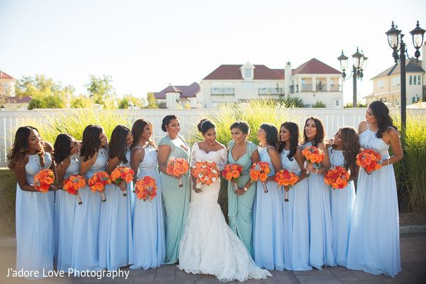 Gorgeous indian bridesmaids http://www.maharaniweddings.com/gallery/photo/110913