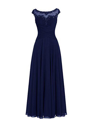 Dresstells® Long Chiffon Scoop Prom Dress with Appliques Wedding Dress Evening Party Dress Dresstells http://www.amazon.co.uk/dp/B011IA4BPU/ref=cm_sw_r_pi_dp_oigLwb0PXMGQZ