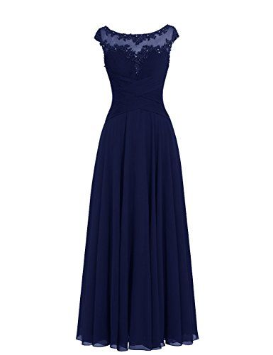 Dresstells® Long Chiffon Scoop Prom Dress with Appliques Wedding Dress Evening Party Dress Dresstells http://www.amazon.co.uk/dp/B011IA4BPU/ref=cm_sw_r_pi_dp_oigLwb0PXMGQZ