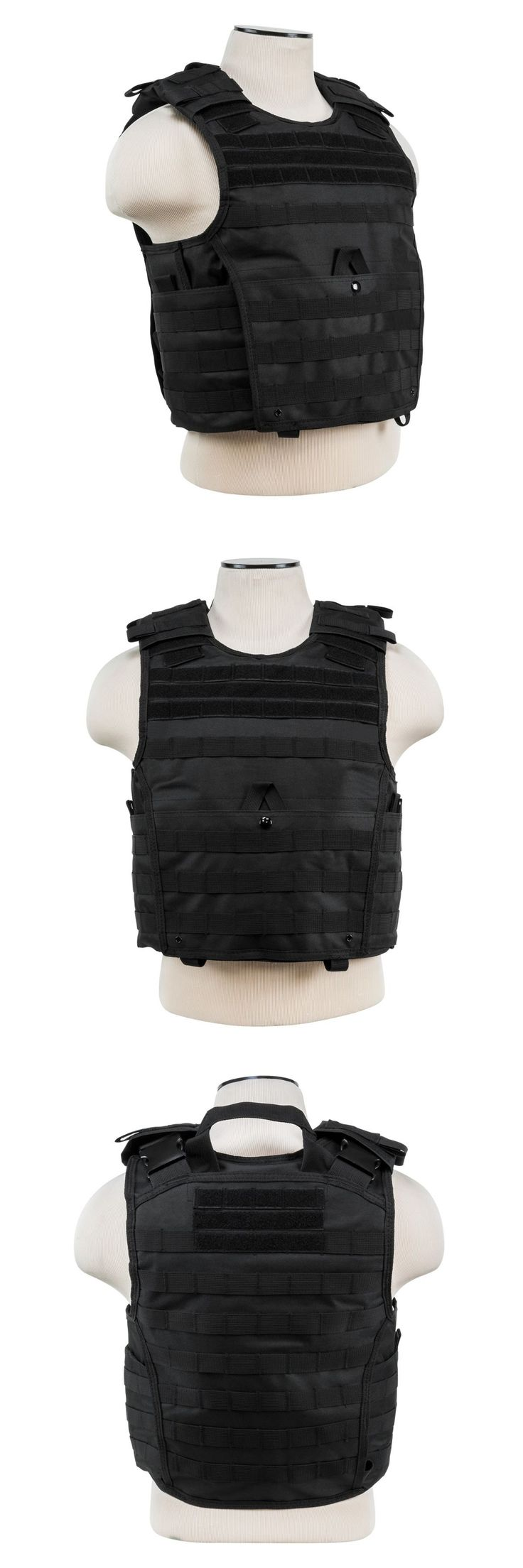 Chest Rigs and Tactical Vests 177891: Ncstar Vism Black Tactical Molle Operator Plate Carrier Body Armor Chest Rig -> BUY IT NOW ONLY: $42.7 on eBay!