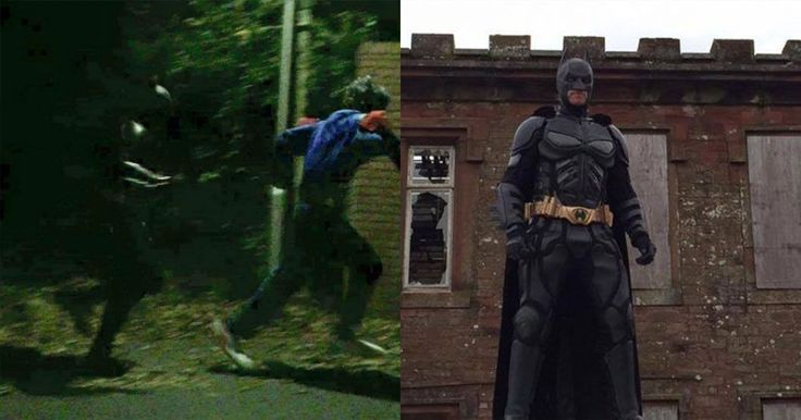 Tell your friends… he's the Batman.  Following the recent spate of creepy clowns scaring children (and grown ups) around the UK, a masked gent dressed as Batman has been stepping in.  A picture shared on Facebook, and then picked up byBBC Cumbria, appears to show the caped crusader chasing off a 'joker