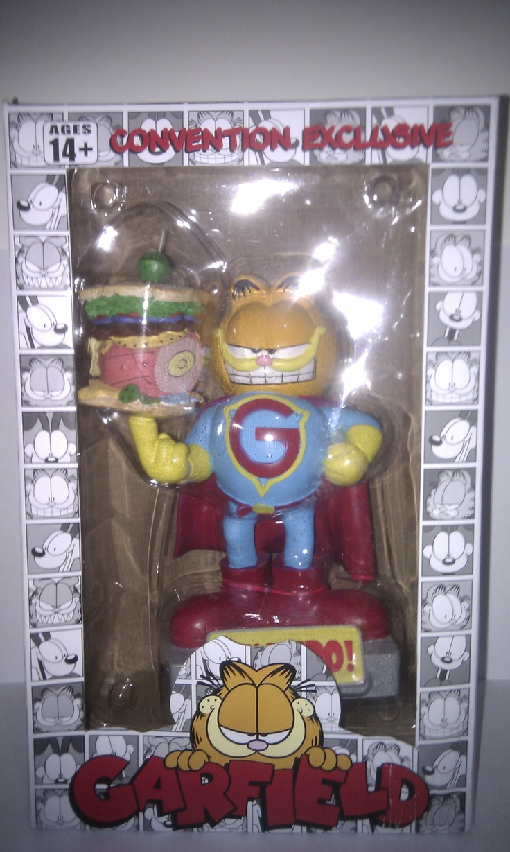 Garfield Exclusive comic con shake ems