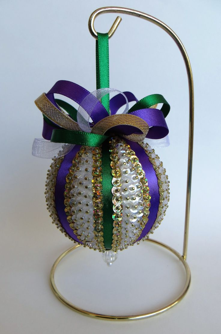 Asian christmas ornaments - Sequined Christmas Ornament