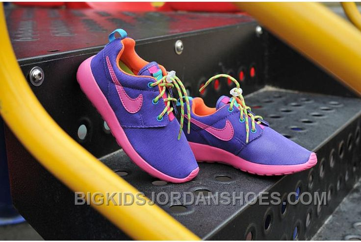 http://www.bigkidsjordanshoes.com/kids-roshe-run-purple.html KIDS ROSHE RUN PURPLE Only $50.00 , Free Shipping!