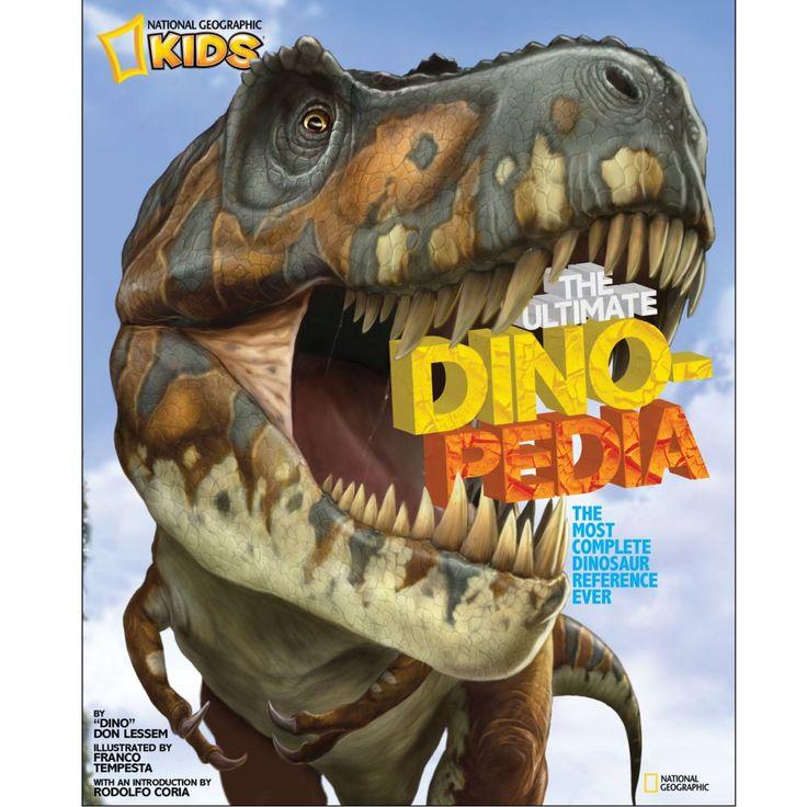 The Ultimate Dinopedia - Editura: National Geographic Kids. Cea mai complexa enciclopedie despre dinozauri. O carte accesibilă, vizual uimitoare, care contine fapte pe care copii le pot invata si cu siguranta vor impresiona. Contine totul despre toate speciile de dinozauri ce au existat vreudata.