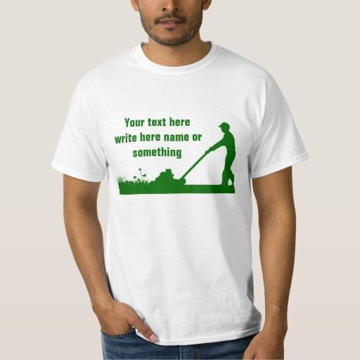 grass mower lawn care t-shirts