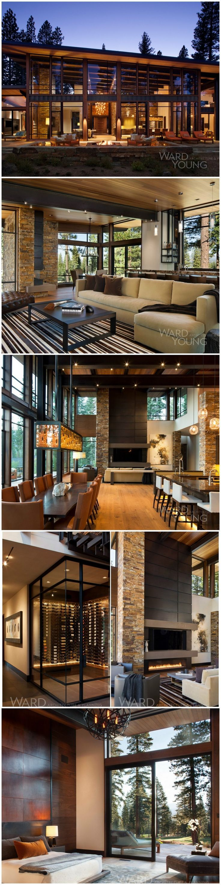 martis modern mountain home by ward young architecture - Mountain Cabin Plans