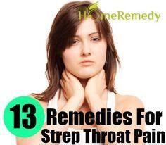 Strep Treatment on Pinterest