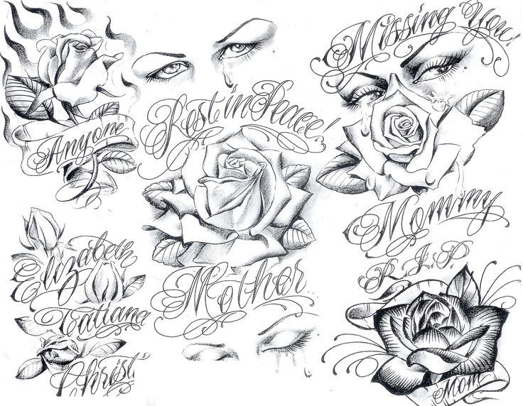 Art Gangster Tattoo Designs | Tattoo Flash by Boog. Татуировки, зарисовки (191 ...