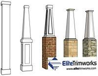 Exterior Columns | Architectural Structural Columns | Fiberglass Columns