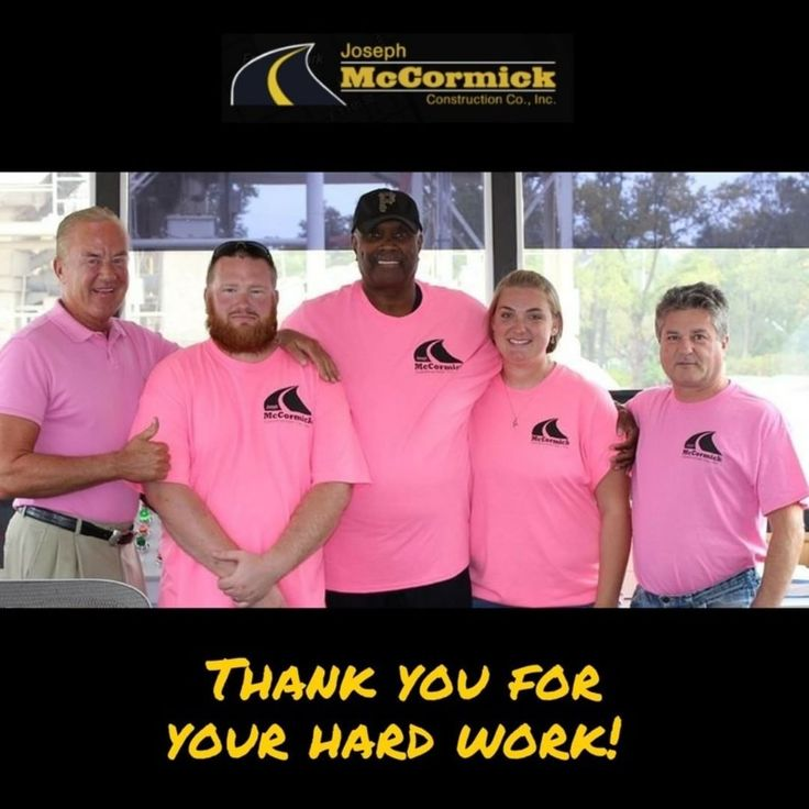 Our teams commitment to excellence has made our company what is today. Wed like to thank all our employees for their hard work and dedication. #EmployeeAppreciationDay . . . #Erie #EriePa #Pa #Pennsylvania #ErieConstruction #JosephMcCormick #Paving #sustainability #asphaltrepairs #roadwayresurfacing #paving #sitedevelopment #demolition #eriegram #eriephotographer #erielife #asphalt #asphaltpaving #814 #familyowned #familybusiness #pennsylvanialife #instagood #constructionworker #construction…