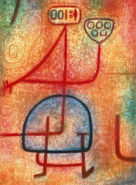Paul Klee - La belle Jardiniere, 1939.