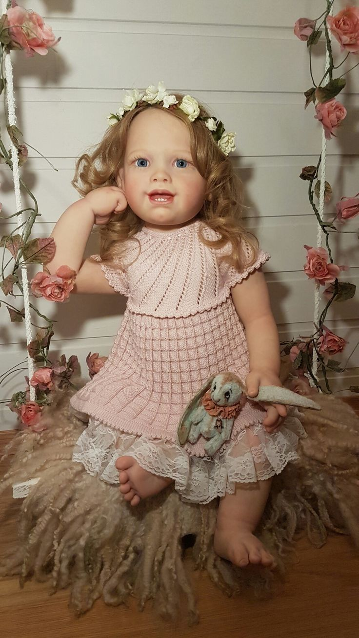 Reborn doll Tifany by susan lippl. Reborned by me.