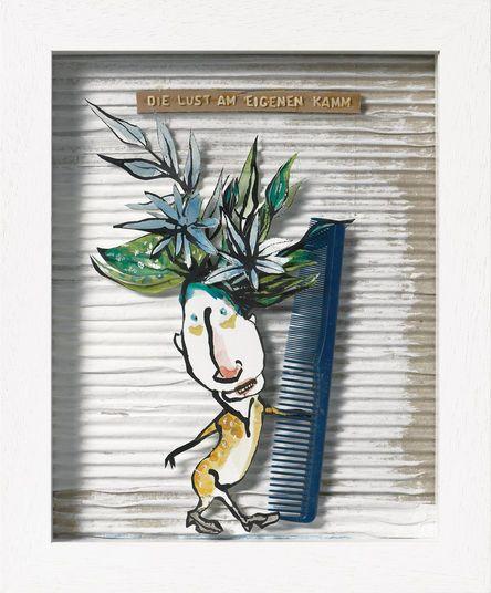 Kadie Schmidt-Hackenberg http://www.kunsthaus-artes.de/de/797601/Bild-Die-Lust-am-eigenen-Kamm-2014/797601.html#q=schmidt-hackenberg&start=4