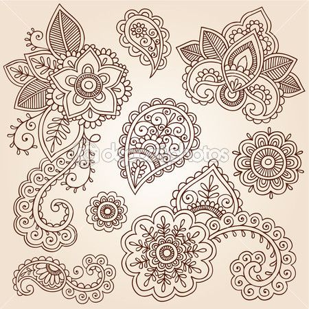 Paisley tattoo idea
