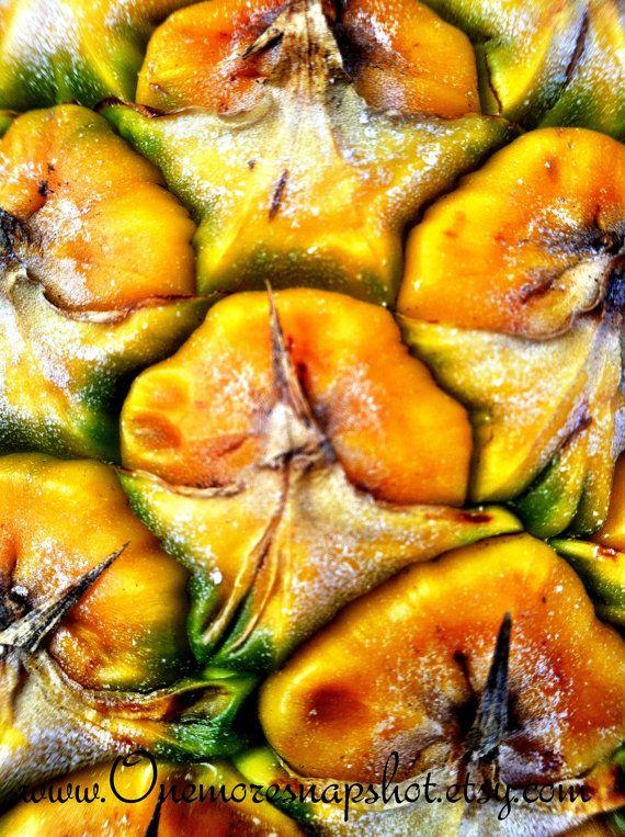 Juicy pineapple photo magnet - $2