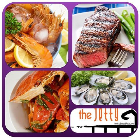 The Jetty has one of the best steak and seafood buffet's.