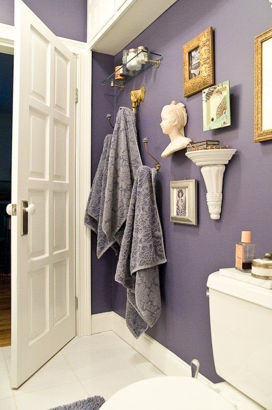Best Images About Bathrooms On Pinterest Bathroom Floor Tiles - Lavender towels for small bathroom ideas