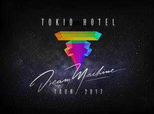 """Tokio Hotel kommen anlässlich ihrer """"Dream Machine World Tour"""" live nach Deutschland! Die Band wird 2017 in Hamburg, Frankfurt, Köln, Stuttgart, München, Leipzig und Berlin live zu erleben sein. Tokio Hotel Tickets gibt's bei Ticketmaster.<br><br>  Tokio Hotel tourten mit ihrem letzten Nummer-eins-Album ''Kings of Suburbia'' und ihrer einzigartigen Live-Show mit weit über 50 Konzerten durch mehr als 20 Länder weltweit und begeisterte Fans und Kritiker gleicher..."""