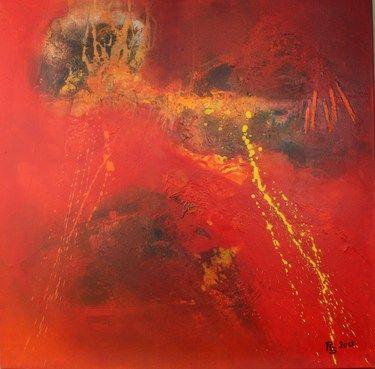 """Saatchi Online Artist Roswitha Schablauer; Painting, """"Hidden Power 1"""" #art"""