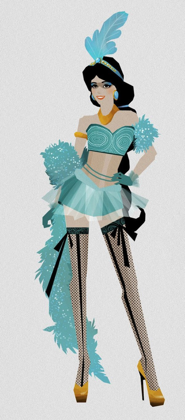Madhanz - Disney Princesses: Moulin Rouge