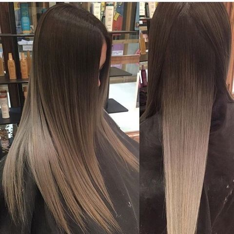 Natural weaving of black to dirty blonde ombré #avedaibw