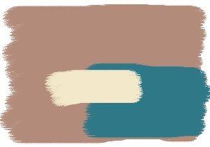 Farbgestaltung Fr Ein Kche Im Naturton Savanne Kombiniert Mit Den Farben Cashmere Und Lagune