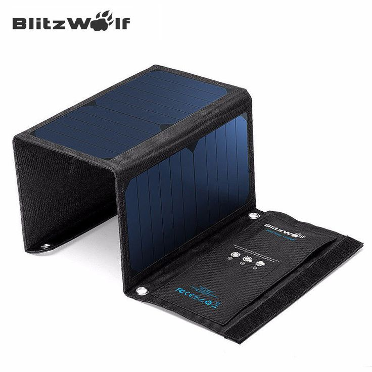 BlitzWolf - 20W Solar Power Bank Portable Charger - External Battery U - INNOVATIVE PRODUCTS PORTAL - MyProductPortal.com