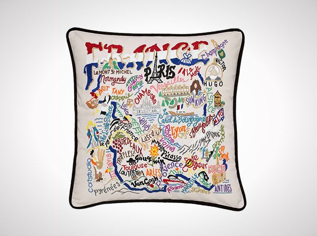 France Pillow   Handmade Country Of France Throw Pillow