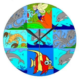 Childrens Disney Picture Clock