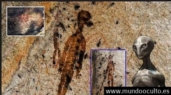 Arqueólogos: Pinturas de extraterrestres y ovnis que datan de más de 10.000 años.