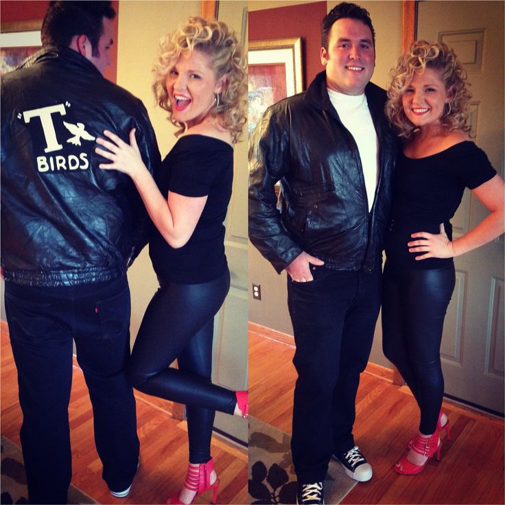 Danny and sandy from grease