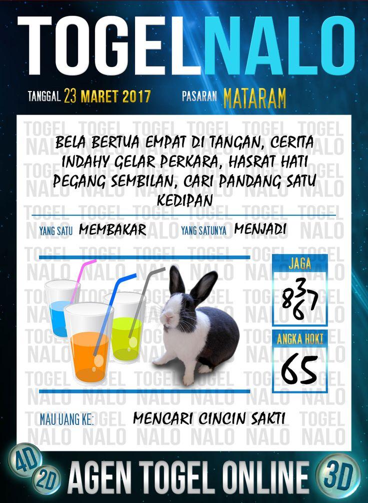 Kode Angka 4D Togel Wap Online TogelNalo Mataram 23 Maret 2017