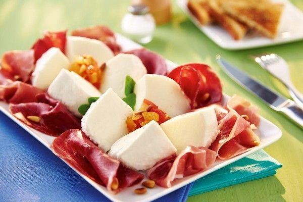 Recette Salade de Gran Tradizione et sa charcuterie italienne : http://www.ilgustoitaliano.fr/recettes/rechercher/keys-tradizione