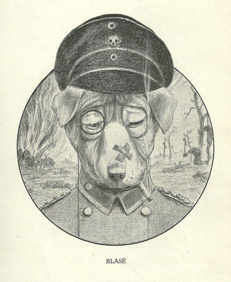 Blasé by Henri Verstijnen. Europeana 1914-1918, CC BY-SA