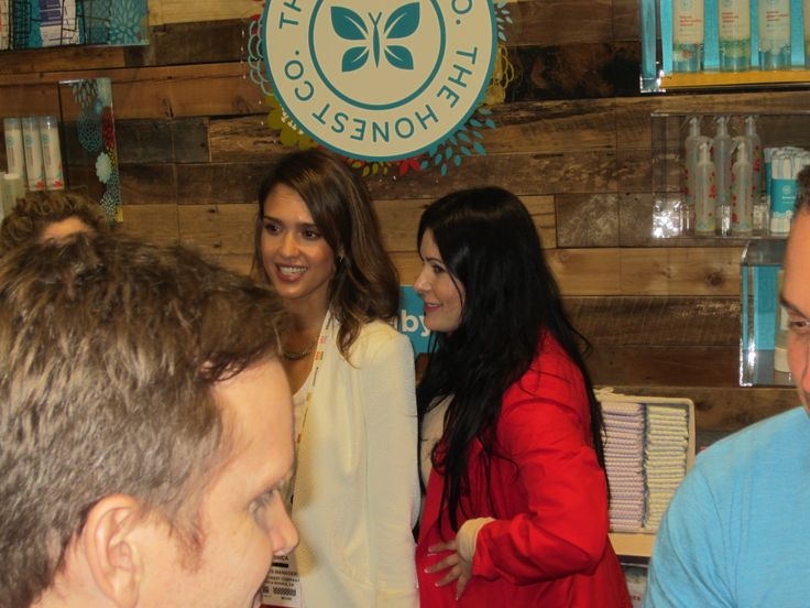 Jessica Alba supporting the Natural Products Industry! Natural Products Expo West