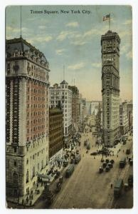 Times Square, New York City. [Times Square is formed by the intersection of Seventh Avenue...] (ca. 191-)