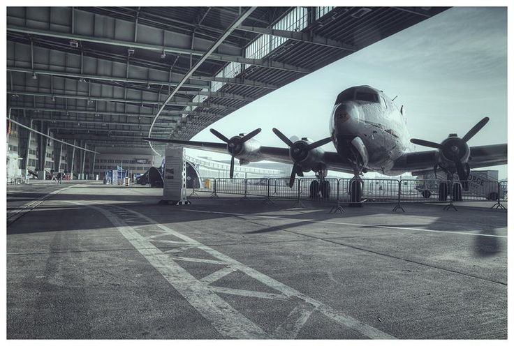 Photograph Tempelhof Airport #I by Alexander Rentsch on 500px